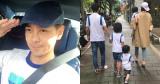 Phát hờn với bức ảnh hiếm hoi chụp đủ cả 5 thành viên nhà Lâm Chí Dĩnh