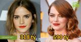 10 nữ diễn viên có thu nhập khủng nhất thế giới năm 2017