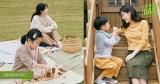 Cặp sinh đôi cùng mẹ Lee Young Ae chụp hình quảng cáo cuộc sống thân thiện với môi trường