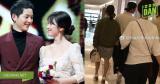 """Song Joong Ki và Song Hye Kyo """"gây sốt"""" khi tay trong tay tình tứ đi mua sắm tại Paris gần ngày cưới"""