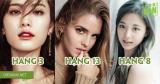 Điểm lại danh sách top 15 mỹ nhân có khuôn mặt đẹp nhất hành tinh gần đây nhất