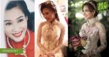 Mỹ nhân Việt và muôn kiểu áo dài rực rỡ trong ngày cưới