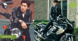 Nam thần Hoa ngữ cùng xe mô tô: chỉ ước được một lần ngồi trên xe anh đèo!