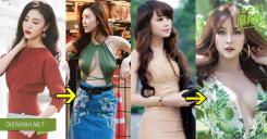 Vòng 1 khác lạ của người đẹp Việt khiến khán giả sinh nghi