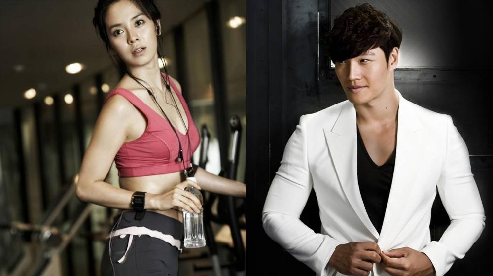 song ji hyo va kim jong kook roi running man, fan the gioi nuc no, dau long - 1