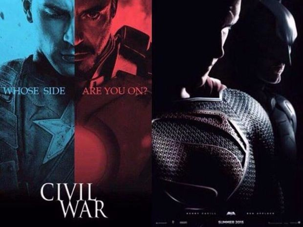 So găng 2 siêu phẩm ''Civil War'' và ''Dawn of Justice''