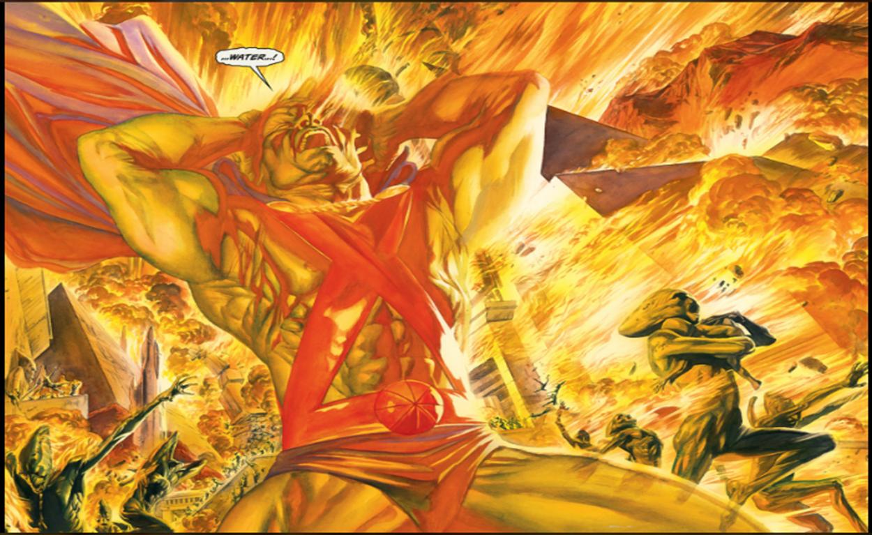 Bảng xếp hạng những vị thần hùng mạnh nhất DC