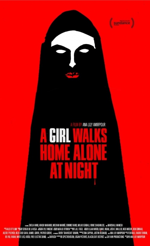Poster phim A Girl Walks Home Alone at Night