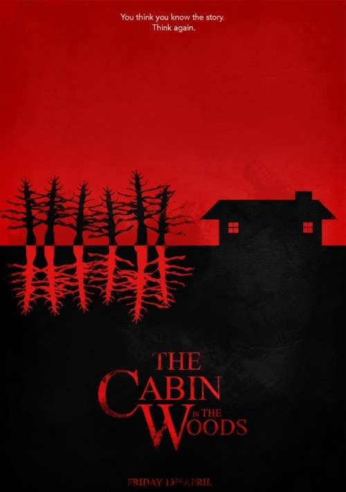 Poster phim The Cabin In The Woods