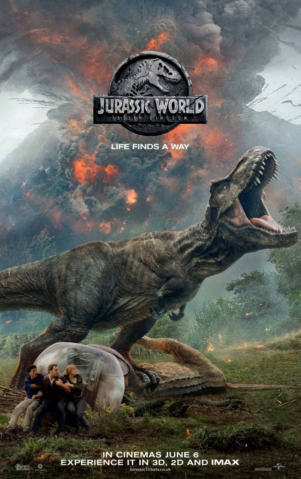 Poster Jurrasic World Fallen Kingdom