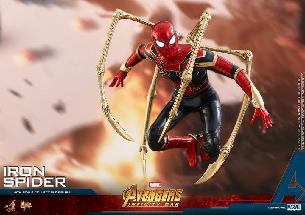 Bộ Iron Spider mới toanh