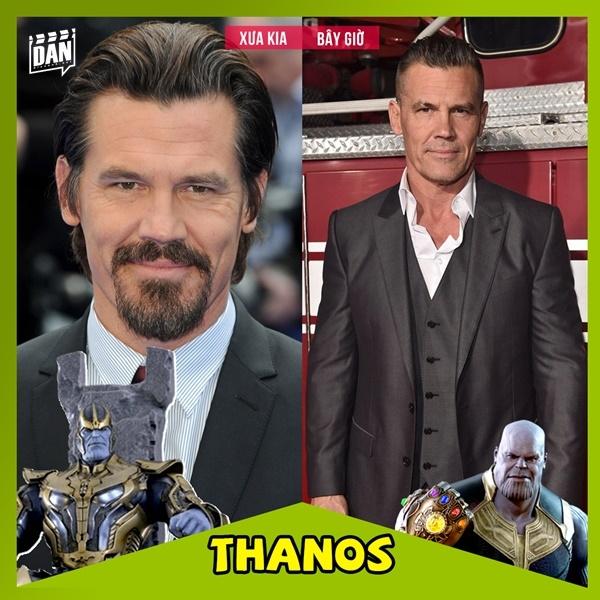 Ảnh xưa và nay của các nhân vật Marvel