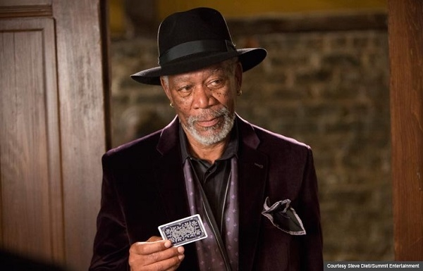 Morgan Freeman trong phim Now You See Me