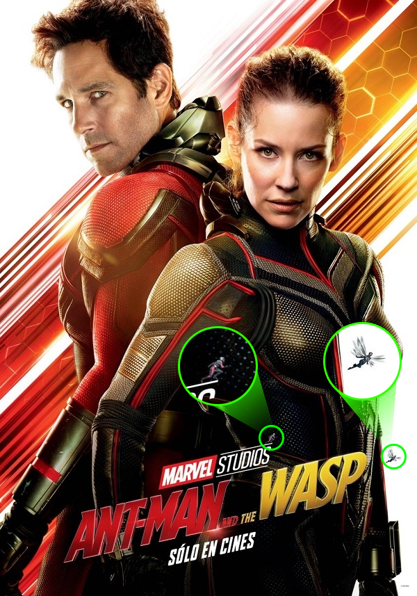 Poster mới nhất của phim Ant-Man and the Wasp