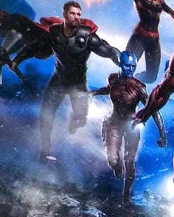 Những hình ảnh đầu tiên về Avengers 4
