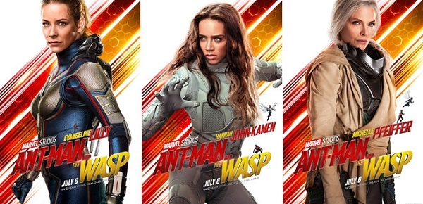 Marvel đề cao phái đẹp trong Ant-Man and The Wasp
