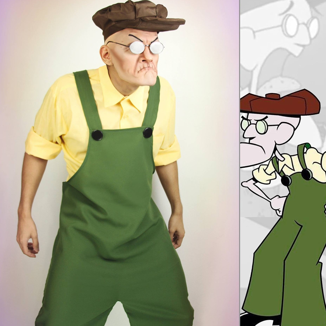 Eustace Bagge trong Courage the Cowardly Dog.