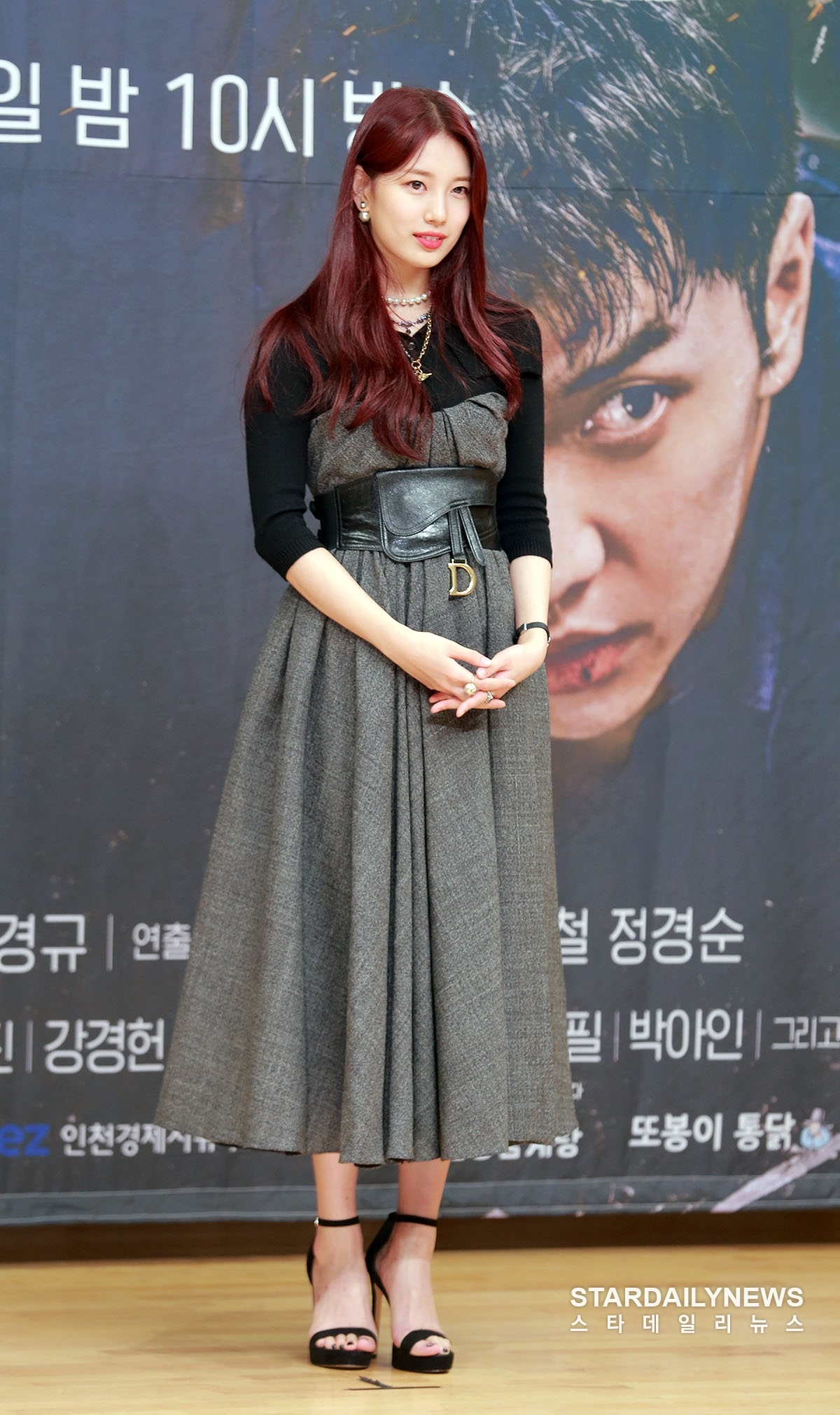 Lee Seung Gi - Suzy đẹp đôi trong họp báo 'bom tấn' Vagabond