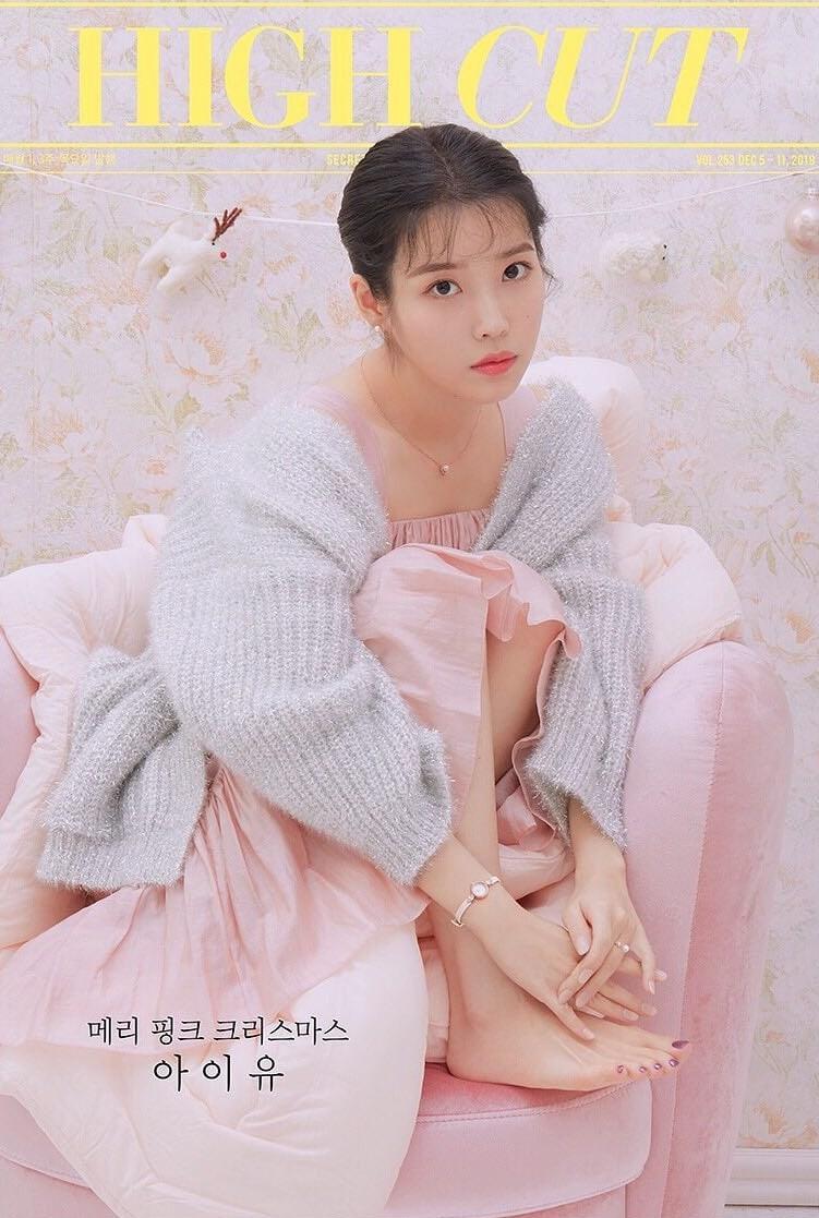 IU hóa thành 'công chúa ngọt ngào' trong loạt ảnh tạp chí mới