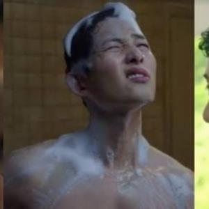 """Các cảnh tắm """"bỏng mắt"""" trong phim Hàn: Park Seo Joon khoe bụng 6 múi"""